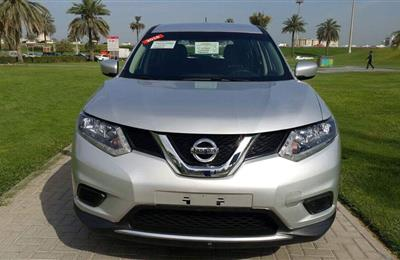 Nissan Xtrail 2016 Silver