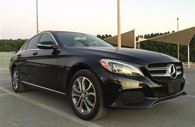 Mercedes C 300 full options Panoramic Sunroof 2015