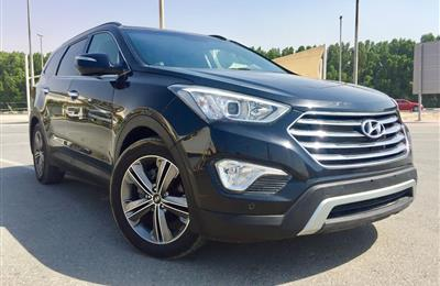 Hyundai.Senta Fe Grand v6 engine 3.5L full options 2014