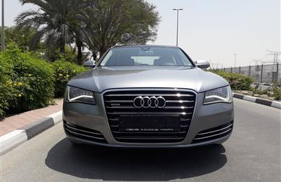 AUDI A8 L 4.2 V8 QUATTRO GCC SPECS IN IMMACUALTE CONDITION