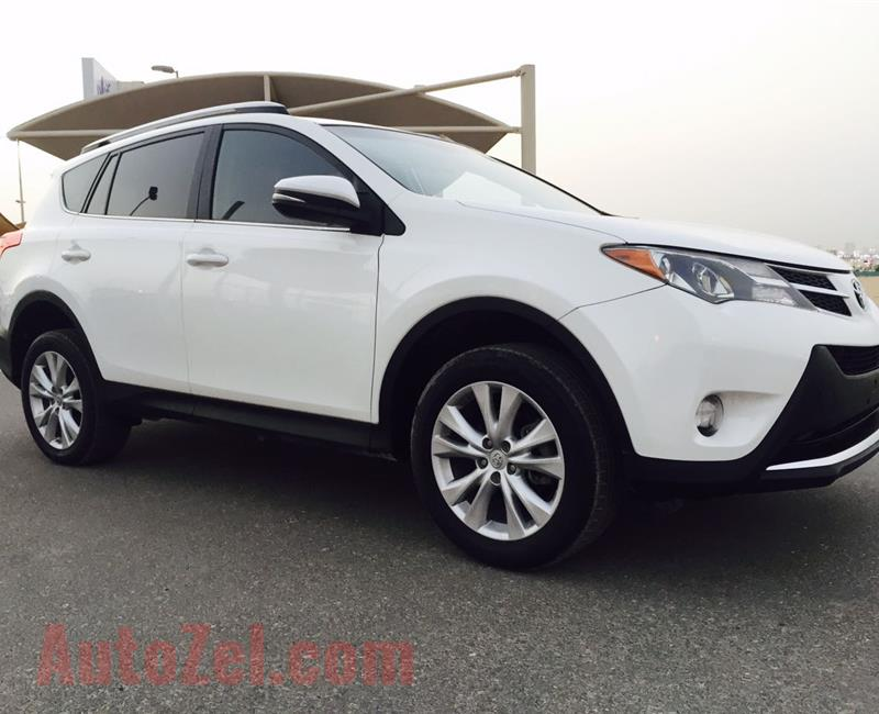 Toyota Rav4 Limited full options sunroof leather seats 2014