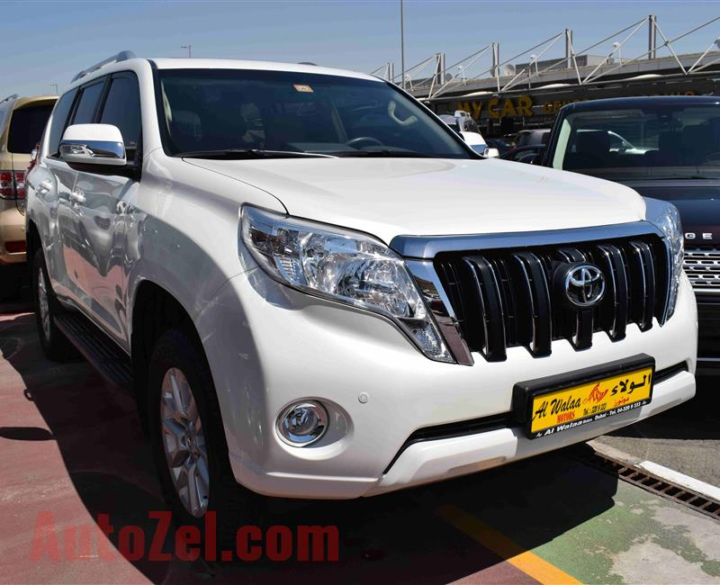 LAND CRUISER PRADO GXR- 2016- 50 000 KM- GCC
