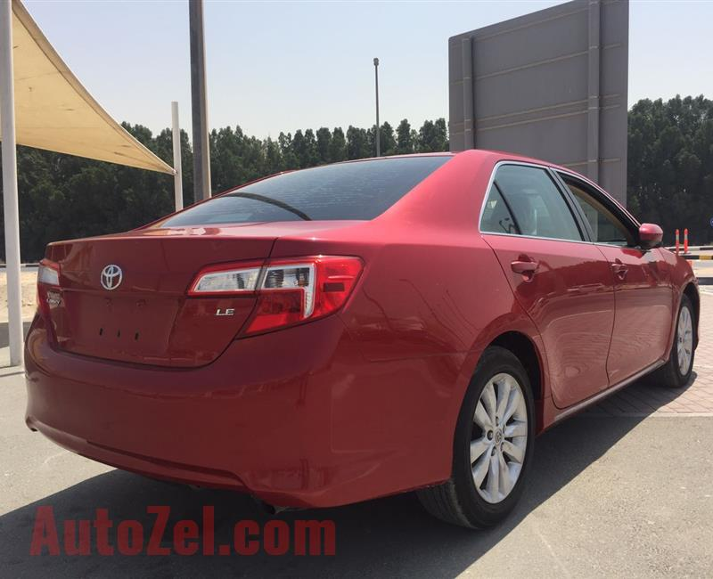 Toyota Camry LE 2012 price is inclusive VAT 5%