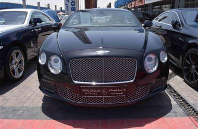 BENTLEY CONTINENTAL- 2013- 60 000 KM- GCC