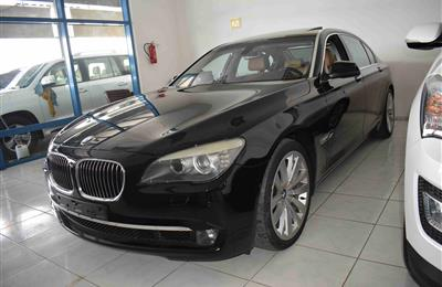 BMW 740Li- 2011- BLACK- GCC