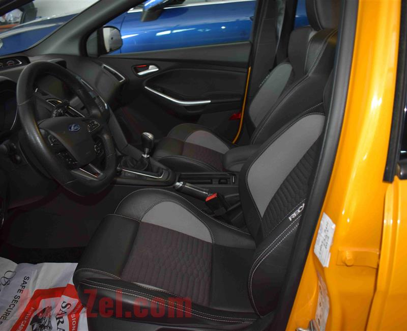 FORD FOCUS ST- MANUAL- 2016- YELLOW- GCC