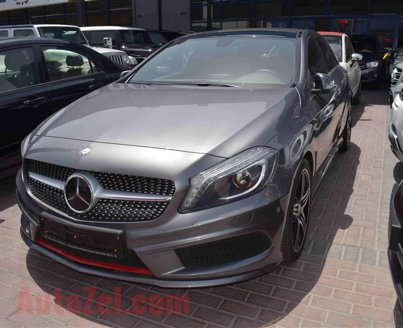 MERCEDES BENZ A250- 2014- GREY- GCC