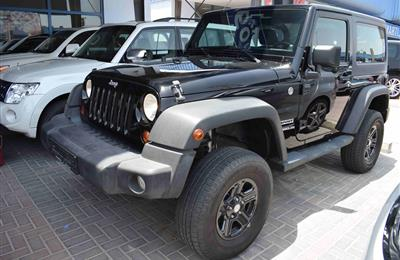JEEP WRANGLER- MANUAL- 2013- BLACK- GCC