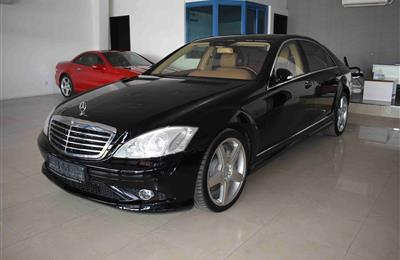 MERCEDES BENZ S500- 2009- BLACK- GCC