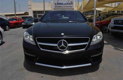 MERCEDES-BENZ CL500- 2008- BLACK- 153 000 KM- AMERICAN...