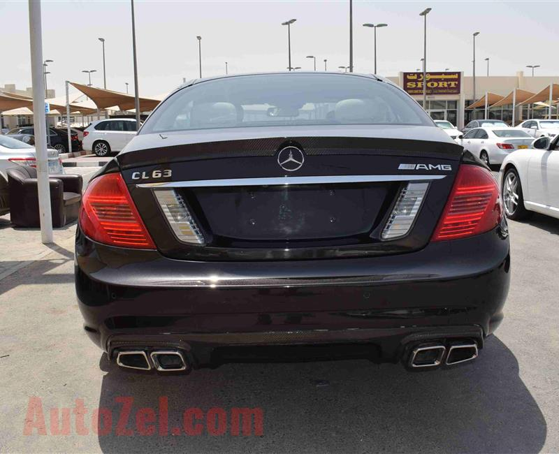 MERCEDES-BENZ CL500- 2008- BLACK- 153 000 KM- AMERICAN SPECS