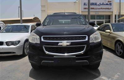 CHEVROLET TRAILBLAZER LT- 2013- BLACK- 82 000 KM- GCC
