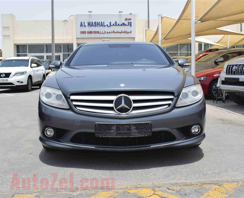 MERCEDES-BENZ CL500- 2008- GRAY- 140 000 KM- GCC