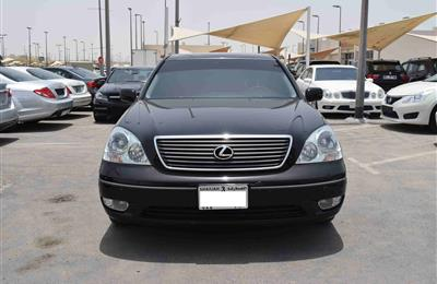 LEXUS LS430- 2003- BLACK- 200 000 KM- JAPANESE SPECS- FULL...