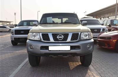 NISSAN PATROL SAFARI- 2002- BEIGE- 235 000 KM- MANUAL