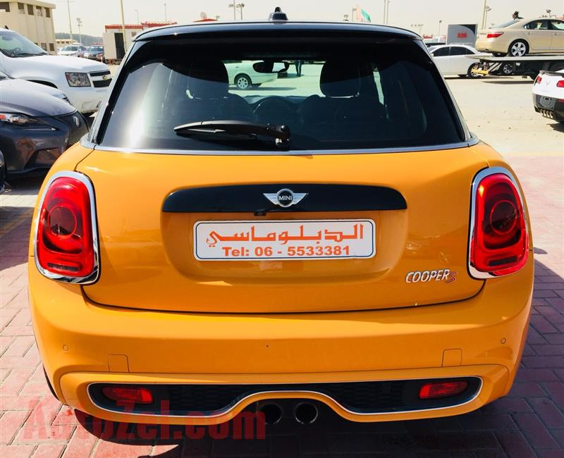Mini Copper S 2016 very good condition