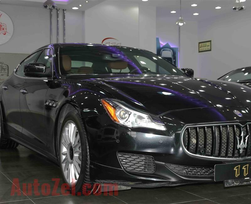 Maserat iQuattroporte MODEL 2015 COLOR IS BLACK  GCC
