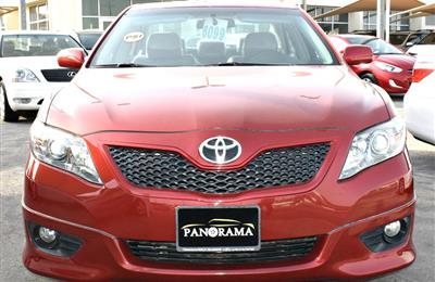TOYOTA CAMRY model 2011- color red-  car specs is american...