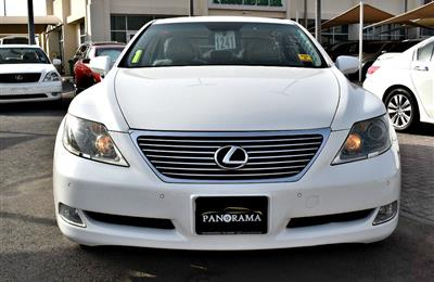 LEXUS LS460 model 2008 - color white -  carspecs is...