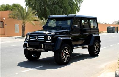 MERCEDES-BENZ G500 4X4- 2016- BLACK COLOR- 7 000 KM ONLY-...