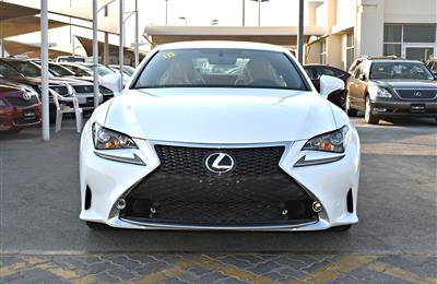lexus rc350 model 2015 color white car specs is american -...