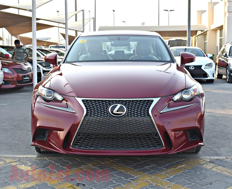 Lexus Is250 Model 2015 Color Red Car Specs Is American  V6 ...