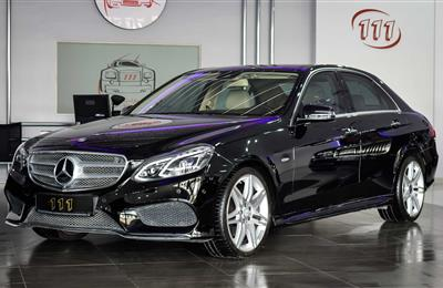 MERCEDES-BENZ E300 EDITION E- 2016 MODEL- V6- GCC SPECS