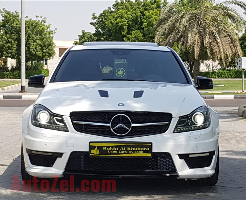 C 63 AMG/// Edition 507.Under Warranty.TOP condition.GCC.2014