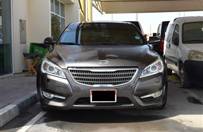 KIA CADENZA, V6- 2012- BROWN- 137 000 KM- GCC