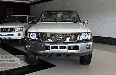 BRAND NEW NISSAN PATROL SUPER SAFARI- 2017- WHITE- V6- GCC