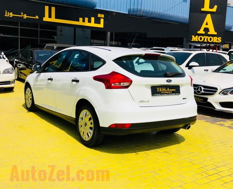 Ford Focus ECO-BOOST 2016, GCC! Dealer Warranty: 30/11/2020 [ONLY 686 DHS MONTHLY, 0% DOWN PAYMENT!]