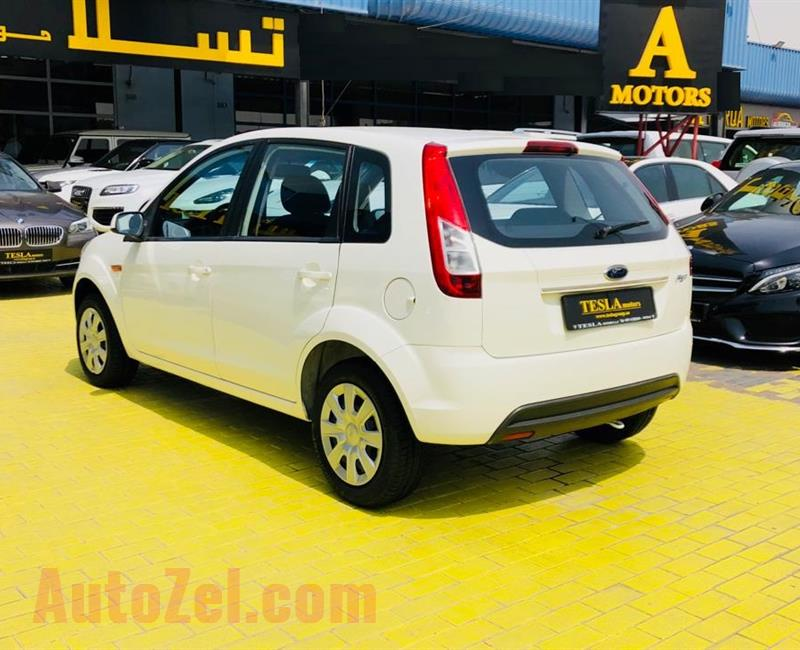 Ford Figo 2015 GCC! Warranty/FREE SERVICE: 10/08/2020, FSH [ONLY 299 DHS MONTHLY, 0% DOWN PAYMENT!]