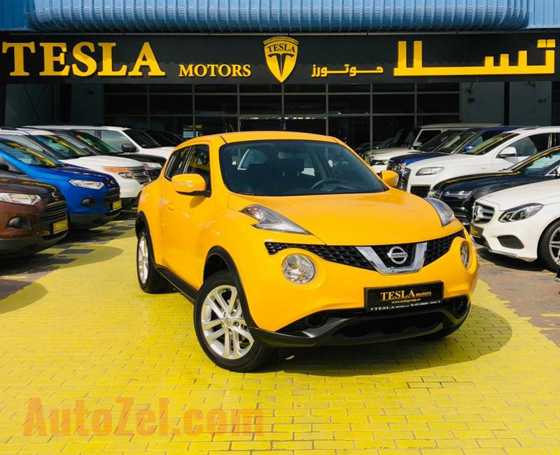 Nissan Juke ///AWR 2016 GCC! DEALER WARRANTY ////FREE SERVICE: 30/01/2022  [ONLY 721 DHS MONTHLY]