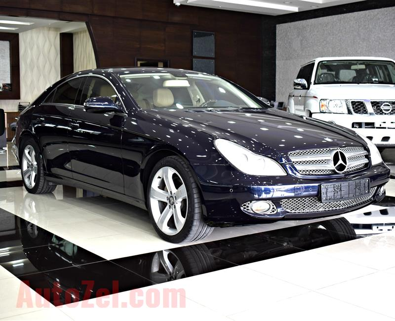 MERCEDES-BENZ CLS350- 2010- BLUE- 108,000 KM- V6- GCC