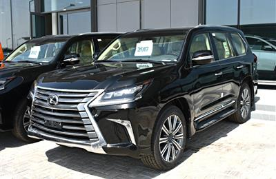 lexus lx 750 model 2017 - black - zero km - v8 - gcc