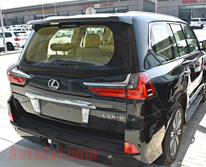 lexus lx 570 model 2017 - black - zero km - v8 - gcc