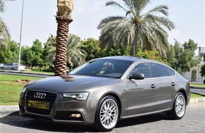 AUDI A5 QUATTRO S LINE.3.0L 6 CYLINDER.SUPERCHARGED 2014...