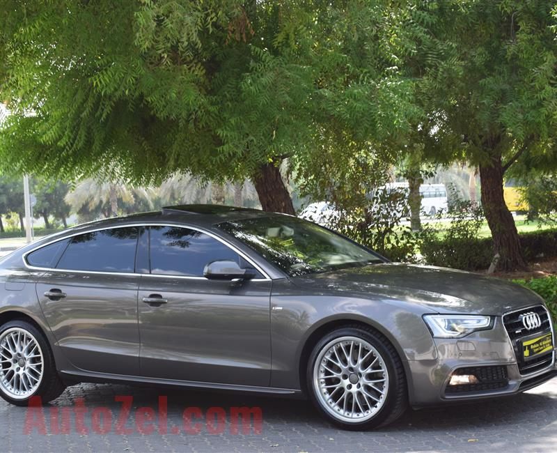 AUDI A5 QUATTRO S LINE.3.0L 6 CYLINDER.SUPERCHARGED 2014 MODEL