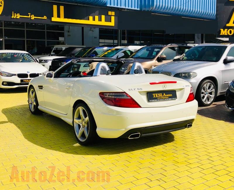 Mercedes-Benz SLK 250 2013 ///AMG GCC! ONE YEAR WARRANTY UNLIMITED KM! ///F/S/H! [ONLY 1,115 DHS MONTHLY!]