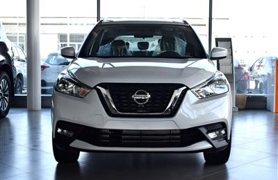 BRAND NEW NISSAN KICKS- 2019- WHITE- GCC- 3YRS WARRANTY...