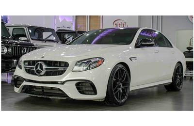 MERCEDES-BENZ E63 AMG S 4MATIC- 2018- WHITE- 33 900 KM