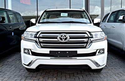 TOYOTA LAND CRUISER VXR 5.7, PLATINUM, V8- 2018- WHITE-...