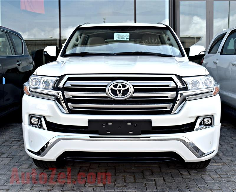 TOYOTA LAND CRUISER VXR 5.7, PLATINUM, V8- 2018- WHITE- BRAND NEW, 0 KM- GCC
