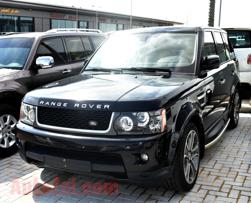 RANGE ROVER  MODEL 2011 - BLACK - 259000 KM - V8- GCC