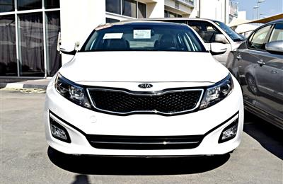 KIA OPTIMA EX, V4- 2014- WHITE- 69 000 MILEAGE- AMERICAN...