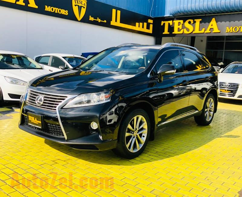 Lexus RX350///SUPER CLEAN/// 2013 GCC! ONE YEAR WARRANTY UNLIMITED KM F/S/H [ONLY 1,262 DHS MONTHLY]