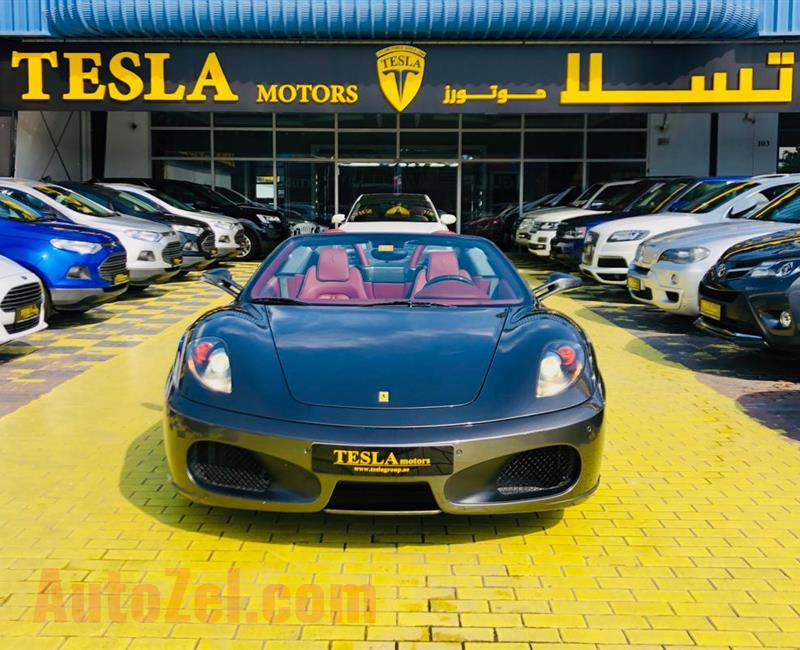 Ferrari F430 GCC 2007///SPIDER///RED TOP///SUPER CLEAN///F/S/H [AI TAYER] WARRANTY CAN BE EXTENDED//