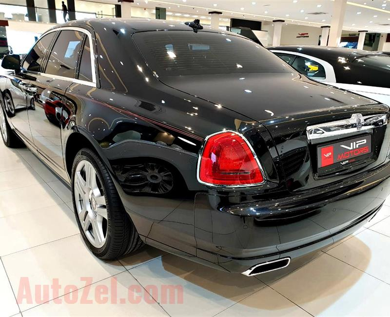 ROLLS ROYCE GHOST, V12- 2016- BLACK- 4 000 KM- GCC