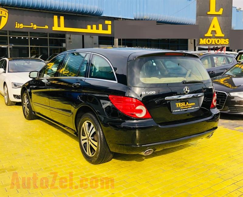 Mercedes R500 ///4MATIC///GCC///2006///FREE ACCIDENT///BRAND NEW TIRES///F/S/H///7 SITES///4 SCREEN!