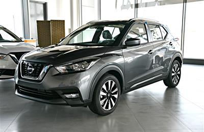 NISSAN KICKS, V4- 2019- GREY- BRAND NEW, 0 KM- GCC